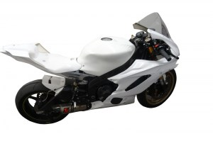 Yamaha R6 08-16 with rear frame and complete R6 17-on bike5